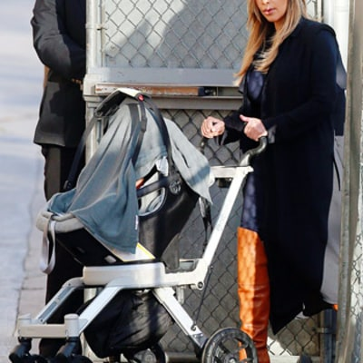 Kim Kardashian and Kanye West's Stroller for Baby North Cost $940