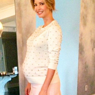 Ivanka Trump Shares Stunning Baby Bump Pic One Week Before Due Date