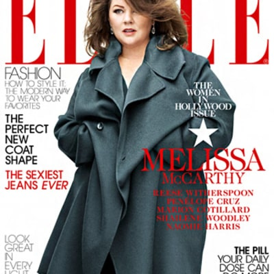 Melissa McCarthy Gets Gorgeous Makeover for Elle's November Issue