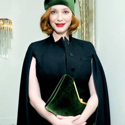 Write a Fashion Police Caption for Christina Hendricks