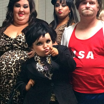 Honey Boo Boo and Family Dress in Costume as Kardashian-Jenner Clan for Halloween: Picture