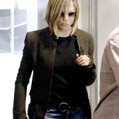 Jennifer Aniston Debuts New Haircut, Says Her Stylist