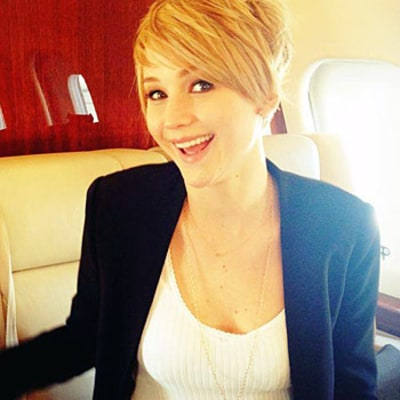 Jennifer Lawrence Chops Off Her Hair, Reveals New