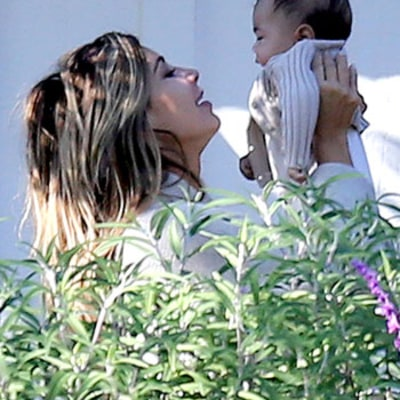 Kim Kardashian Dotes on Baby Daughter North: See the Precious New Pictures!