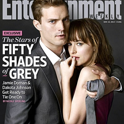 Fifty Shades of Grey First Photos: Jamie Dornan, Dakota Johnson Pose Together