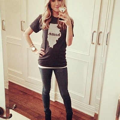 Kristin Cavallari Debuts Tiny Baby Bump in Instagram Picture