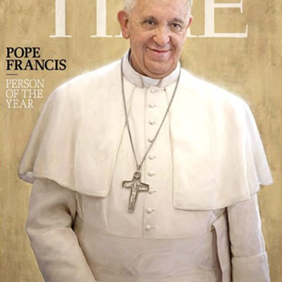 Pope Francis Beats Miley Cyrus, Edward Snowden For Time's Person of the Year