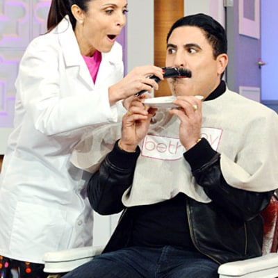 Reza Farahan Shaves Off Mustache: Before and After Pictures of Shahs of Sunset Star