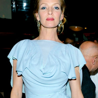 Write a Fashion Police Caption for Uma Thurman