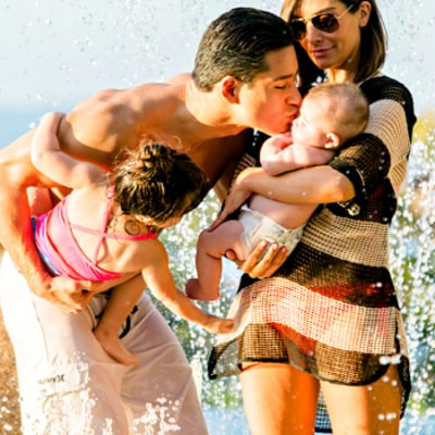 Mario Lopez, Wife Courtney and Kids Celebrate Holidays In Mexico -- All the Details