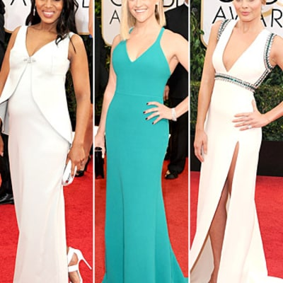 Golden Globes 2014 Top 10 Best-Dressed Stars on the Red Carpet
