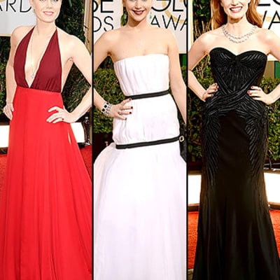 Golden Globes 2014 Red Carpet Dresses Photos: What All the Stars Wore!