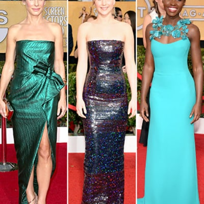 SAG Awards 2014 Red Carpet Photos: What the Stars Wore at the Screen Actors Guild Awards