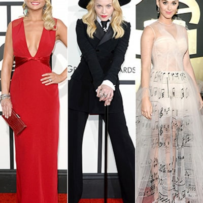 Grammys 2014 Red Carpet Dresses Photos: What All the Stars Wore