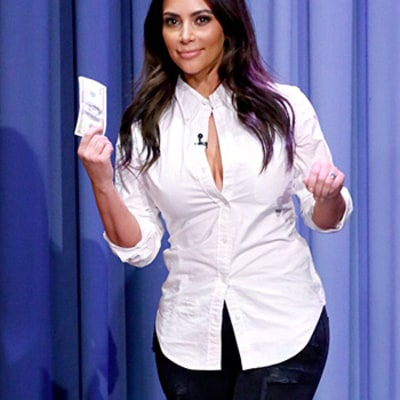 Jimmy Fallon's Tonight Show Debut: Kardashian, Gaga, Tons of Stars Pay $100 Bet