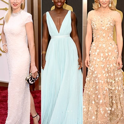 Oscars 2014 Red Carpet Photos: What the Stars Wore to Academy Awards