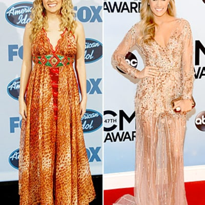 Carrie Underwood's Glam Evolution