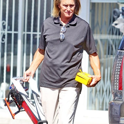 Bruce Jenner Continues Growing Out His Ombre Hair: See His Latest Look