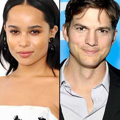 Zoe Kravitz: I Once Found Ashton Kutcher Making an Omelet in My Kitchen