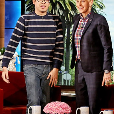 Wheel of Fortune Winner Emil De Leon Explains Victory, Receives Baby Buggy From Ellen DeGeneres