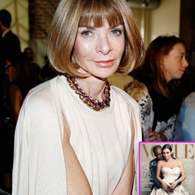 Anna Wintour on Kim Kardashian, Kanye West Vogue Cover: