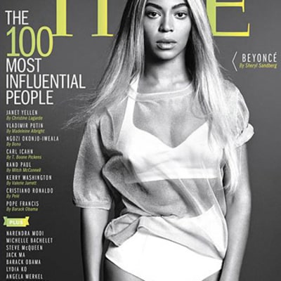 Beyonce Covers Time's 100 Most Influential People Issue
