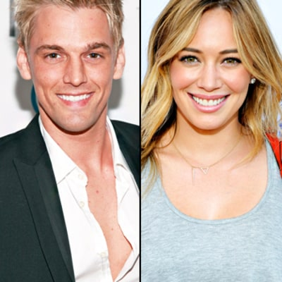 Aaron Carter Talks About Ex-Girlfriend Hilary Duff Again: