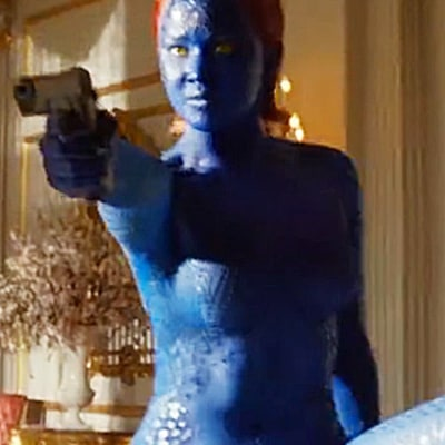Jennifer Lawrence Makes Impressive Moves as Mystique in New X-Men: Days of Future Past Clip