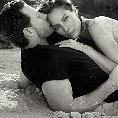 Christy Turlington Returns as Face of Calvin Klein Eternity, Poses with Husband Ed Burns: See the Age-Defying Pictures
