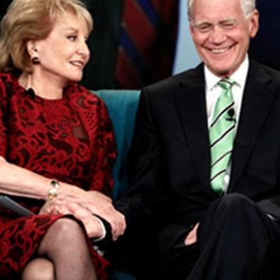 Barbara Walters, David Letterman Make Joke Suicide Pact:
