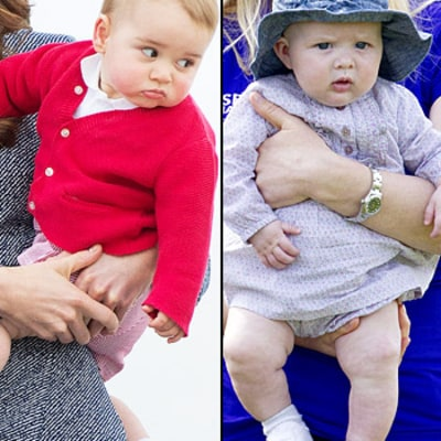 Prince George Threw Food at Cousin Zara Phillips' Baby Daughter When They First Met