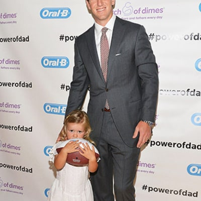 Eli Manning Gushes About Daughter's Milestones, Father's Day Plans