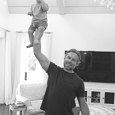 Jessica Simpson Shares Adorable Father's Day Pictures of Daughter Maxwell, Son Ace With Eric Johnson