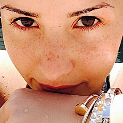 Demi Lovato Goes Without Makeup in Fresh-Faced Selfies, Shares Toned Bikini Body Picture