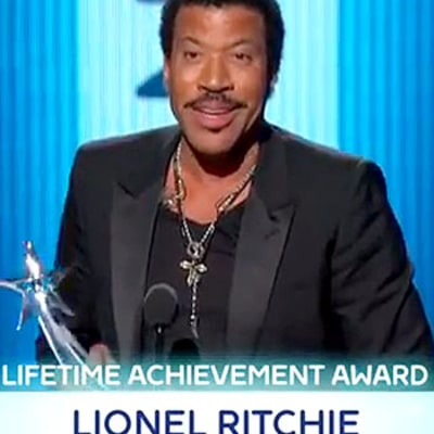 Lionel Richie's Name Misspelled Onscreen During BET Awards 2014 Lifetime Achievement Honor: Picture