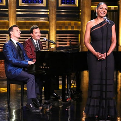 Audra McDonald Sings Yahoo Answers on The Tonight Show With Jimmy Fallon: Watch Now!