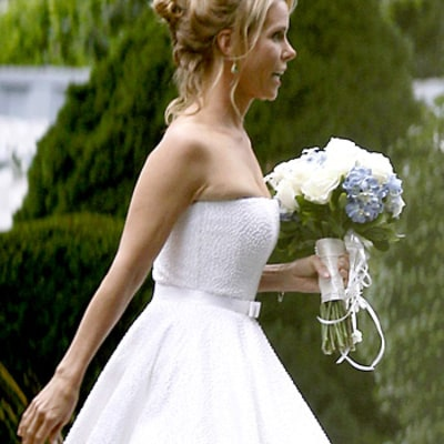 Cheryl Hines Stuns in Romona Keveza Wedding Dress for Robert F. Kennedy, Jr. Nuptials: Pic