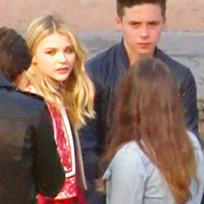 Chloe Grace Moretz, Brooklyn Beckham Arrive Together to Teen Choice Awards: Pictures