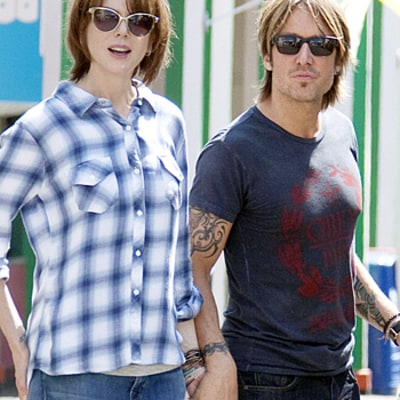 Nicole Kidman, Keith Urban Twin Out on Film Set: See the Cute Picture!