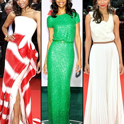 Zoe Saldana's Best Style Moments