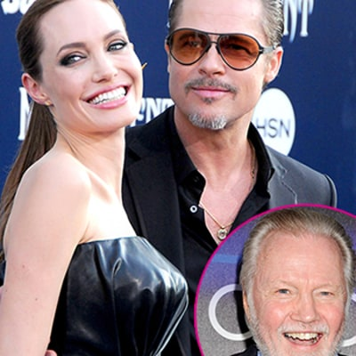Jon Voight Did Not Know About Angelina Jolie's Wedding to Brad Pitt: