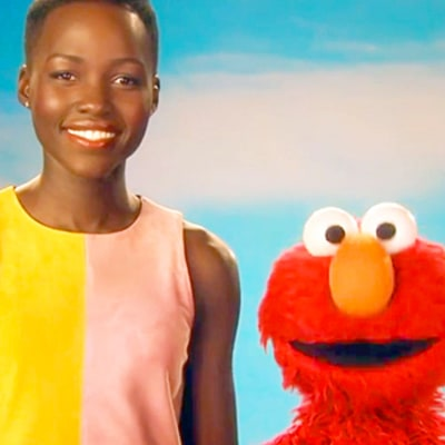 Lupita Nyong'o Talks Skin With Elmo on Sesame Street: Watch the Video