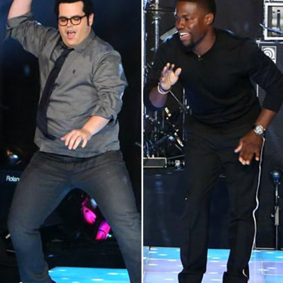Kevin Hart, Josh Gad Compete In Dance-Off on Ellen DeGeneres Show: Watch!