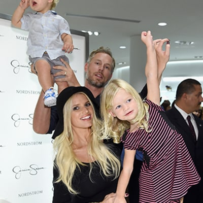 Jessica Simpson Brings Daughter Maxwell, Son Ace to Her Fashion Show With Husband Eric Johnson: Pictures