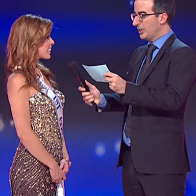 John Oliver Hilariously Blasts the Miss America Pageant Over Scholarship Claims on Last Week Tonight: Watch the Video