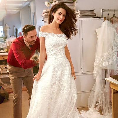15 Best Celebrity Wedding Dresses as Worn by Kate Middleton, Kim Kardashian, More