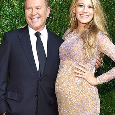 Michael Kors Gushes About Dressing Pregnant Blake Lively: Whether It's For the Beach, or She's Pregnant, All Clothes Work on Her!