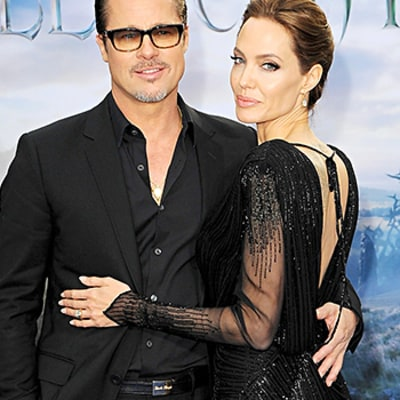Brad Pitt Says Being Married to Angelina Jolie Brings