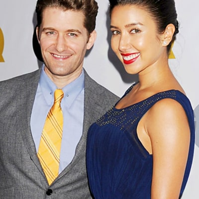 Matthew Morrison Shares Beautiful Wedding Picture With New Wife