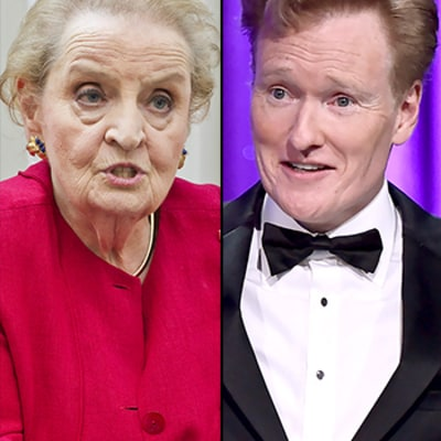 Madeleine Albright Hilariously Burns Conan O'Brien on Twitter: